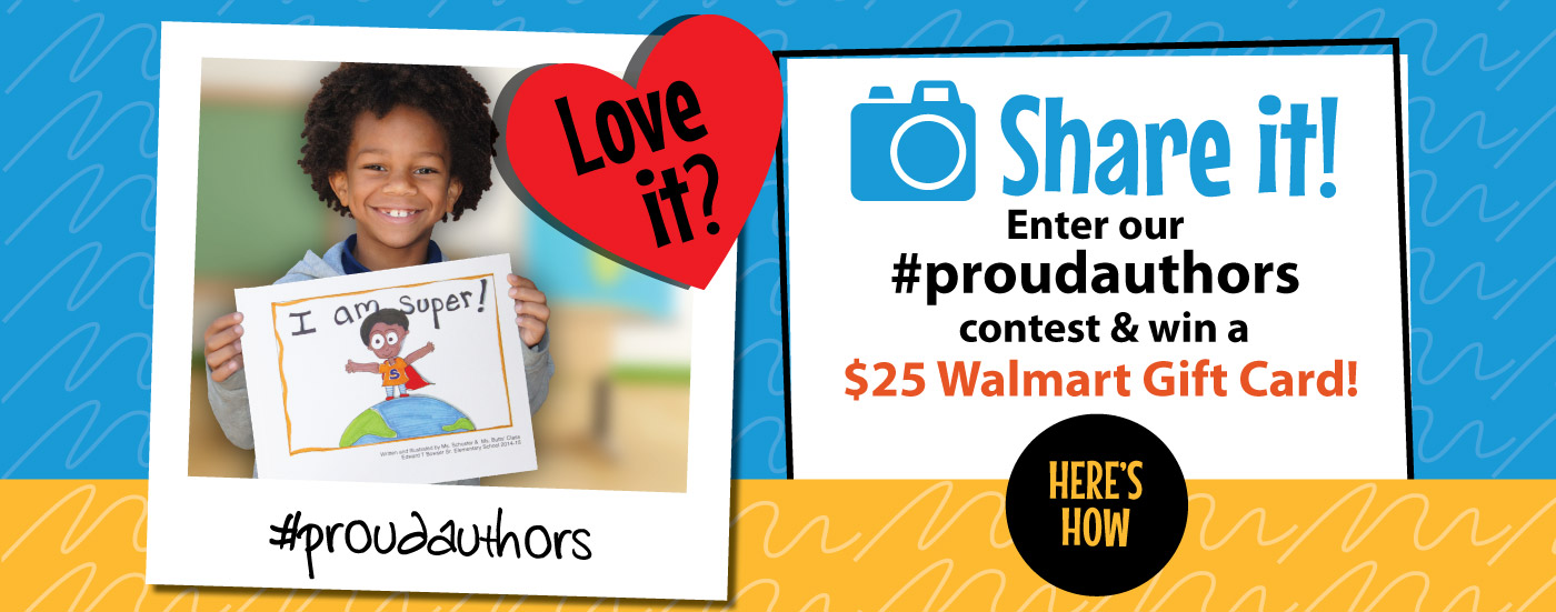 Share It. Enter #ProudAuthors Contest