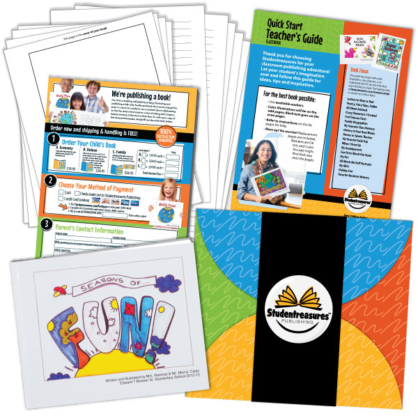Create a Book - Free Classbook Publishing Kit