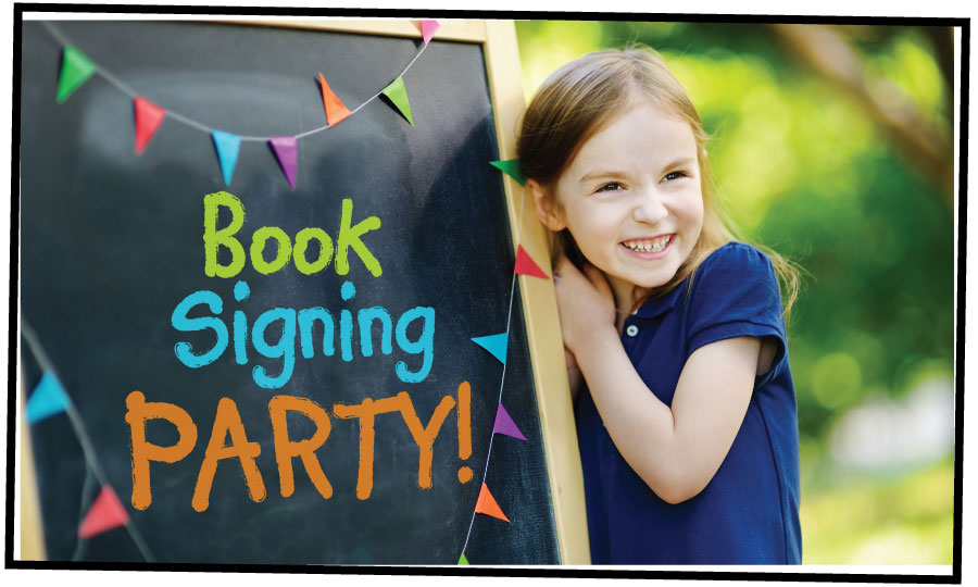 Celebrate Book Publishing - Book Signing Party