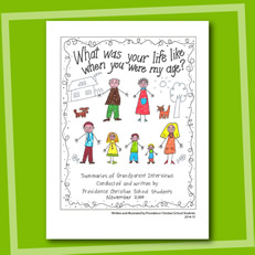 What was your life like…? - Sample Book