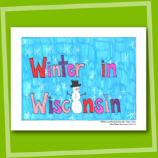 Winter in Wisconsin - Sample Book