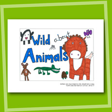 Wild About Animals - Sample Book
