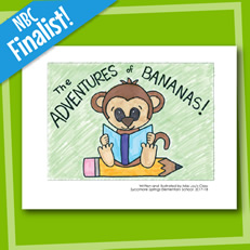 The Adventures of Bananas- Sample Book