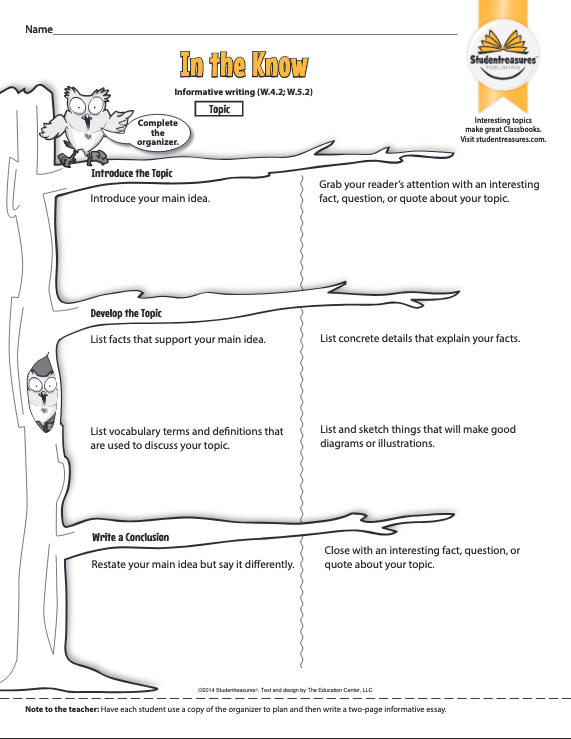 in-the-know-graphic-organizer